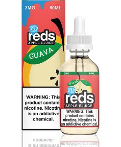 7 Daze Reds Apple Guava Iced 60ml