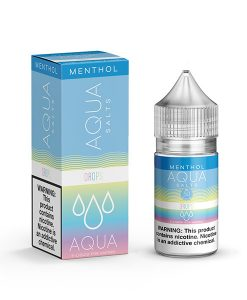Aqua Menthol Salts Drops 30ml