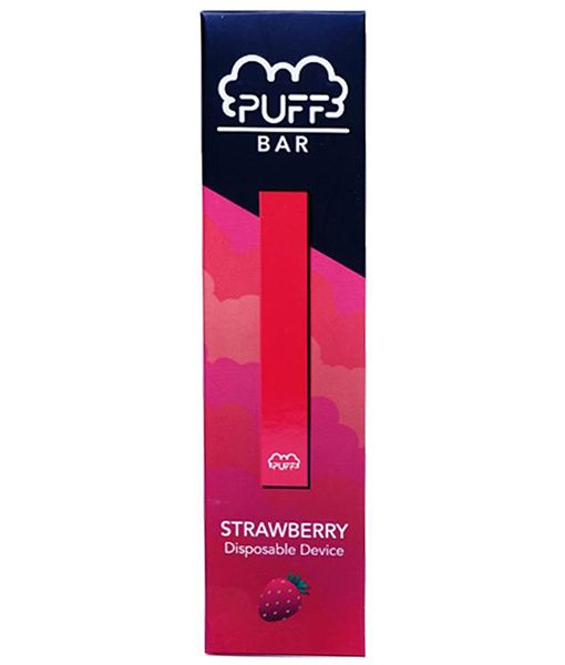 Puff Bar Disposable Pod Device Strawberry